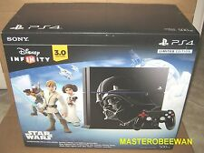 PS4 Star Wars 500GB Console Disney Infinity 3.0 Limited Edition Bundle Brand New
