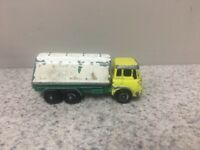 MATCHBOX #25 BP PETROL TANKER TRUCK MADE IN ENGLAND BY LESNEY VINTAGE