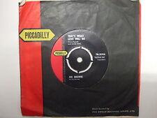 7N.35106 Joe Brown - That's What Love Will Do / Hava Nagila - 1963