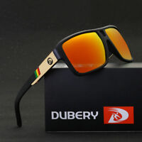 DUBERY Men's Polarized Sunglasses Outdoor Driving Mens Eyewear Sport Glasses