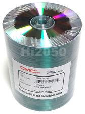 100 CMC Pro Taiyo Yuden 52X Silver Thermal Lacquer Printable Premium CD-R Discs