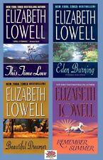 This Time Love/Eden Burning/Beautiful Dreamer/Remember Summer - Elizabeth Lowell