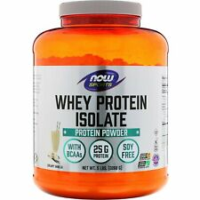 Now Foods  Sports  Whey Protein Isolate  Creamy Vanilla  5 lbs   2268 g