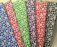 Fat Quarters Bundle DAISY Blend Fabric Craft Shabby Chic Flower Sewing Bunting