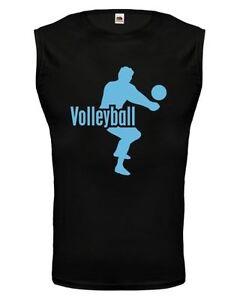 Unisex Muskelshirt ärmellos Tank Top Volleyball pallavolo player
