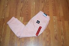 NWT Womens NINE WEST JEANS Gramercy Peach Melba Skinny Ankle Jeans Size 10