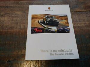 Nice Original 2007 Porsche 911 Cayman There Est No Substitut Sales Brochure