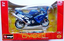 Burago Cycle  Kawasaki Ninja ZX 10R  in 1:18
