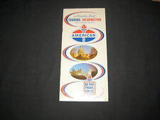 American, Adventure Road Tour Expedition and Expense Record Book, 1962       k3