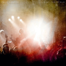 PAUL DRAPER-LIVE AT SCALA-IMPORT CD WITH JAPAN OBI D96