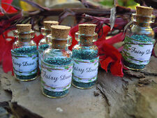 5 Fairy Dust bottles Party Favours All occasions, Pixie,Wishing,Angel Dust
