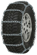 235/75-15 235/75R15 Tire Chains 5.5mm Link Non-Cam Snow Traction SUV Light Truck