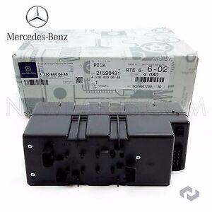 For Mercedes R230 SL550 SL55 AMG Central Locking Vacuum Supply Pump In Trunk