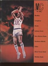 1977/1978 MIssouri Valley Conference Preview With Larry Bird Indiana State EX+