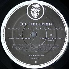 DJ Hellfish – Man Vs Machine - Vinile