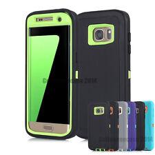 Hybrid Heavy Duty Hard Tough Armor TPU Case Cover For Samsung Galaxy S6 S7 edge