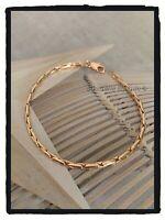 Bracelet Maille Paloma Plaqué Or 18 Carats 750/1000 Bijoux Femme  NEUF