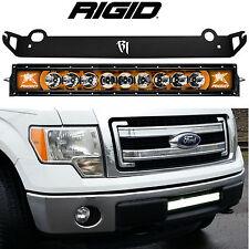"""Rigid Radiance 20"""" LED Light Bar & Bumper Mount AMBER Back Light for Ford F150"""