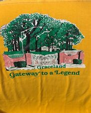 Vintage Graceland Shirt / Large / Elvis / Direct From Memphis
