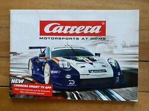 """Carrera Katalog 2019 / 2020     DIN A5    104 Seiten 124 132 GO    """"NEU"""""""