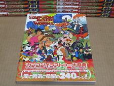 Capcom Design Works art illustrations livre * NEUF ***