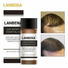 Lanbena Hair Growth Essence Hair Loss Treatment ginger Sunburst raise dense 20ml
