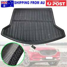 Car Rear Trunk Liner Boot Cargo Mat Floor Tray Black For MAZDA CX-5 KF 2017-2020