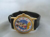 Lorus Mickey Mouse Disney Watch Water Resistant Collectible WORKING!