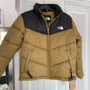 The North Face Saikuru Padded Jacket Khaki - Size XS - Brand New - RRP £200