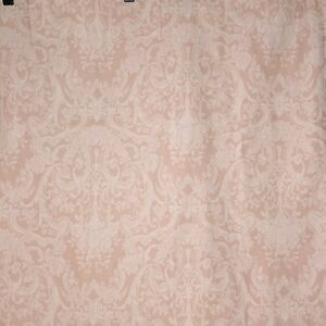 Ralph Lauren Avery Pink Twin Size Flat Sheet And Standard Pillowcase Cottage