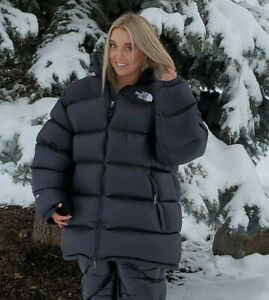 NWOT TNF North Face 700 Fill Down Nuptse Black Overfilled Overstuffed XXL Long