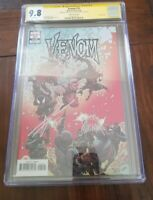 VENOM #25 1:25 VARIANT CGC SS 9.8 CATES AND STEGMAN
