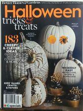 Better Homes & Gardens Halloween 2017 Tricks & Treats Ideas FREE SHIPPING sb