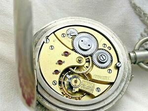 große alte Taschenuhr * tolles Werk und läuft *