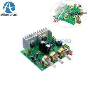 TDA2030A Two 2-Channel 15W +15W hifi 2.0 Stereo Amplifier AMP Board DIY Kit