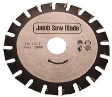 Undercut Jamb Saw Blade 110mm Flooring Trimmer fits Roberts 10.42 110v & 230v