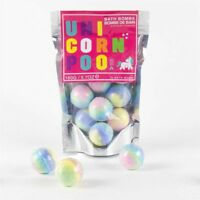 10 x Unicorn Poo Bath Bombs Raspberry Scented Spheres Ideal Christmas Present