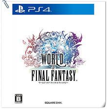 PS4 World of Final Fantasy ENG / 最終幻想世界 中文版 SONY Enix RPG Games