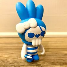 Kuso Vinyl - Wise Fuluto 11 Blue Pirate Figure, by Toby HK - Designer Vinyl Toy