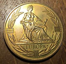 MEDAILLE EUROPA ÉCU 1980 PAR RODIER (183)