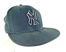 New York Yankees New Era Baseball Cap Size 7.5, Black White Accented Lettering