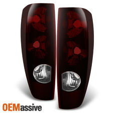 Fit Red Smoked 04-12 Colorado / Canyon Tail Lights Replacement 2004-2012