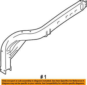 FORD OEM FENDER-Upper Rail Assembly Right JL3Z16C274A
