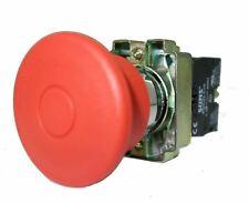 Suns Pbm22 Es R P6 22mm Emergency Stop Push Pull Red 40mm Mushroom Metal 1nc