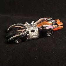 2000 Hot Wheels Arachnorod Spiderman Race Car Black 8