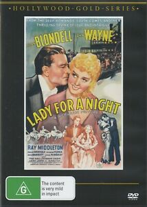 Lady for a Night - John Wayne New and Sealed DVD
