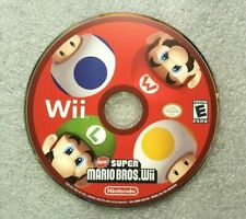 New Super Mario Bros (Wii, 2009) NTSC GAME DISC ONLY TESTED