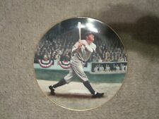 Babe Ruth called shot collector plate
