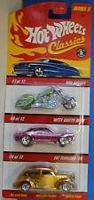 2007 HOT WHEELS Classics SERIES 3 CAR PK Bad Bagger Nitty Gritty Kitty Fat 40