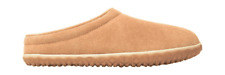 Men's Minnetonka Taylor Clog Slipper Cinnamon Suede